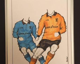 Wolverhampton Wanderers Kit History: 1990-2000