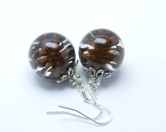 Pine cone earrings,alder cone,alder earrings,forest earrings,resin,natural jewerly,brown earrings,pine cone,alder,forester,pine cone jewerly