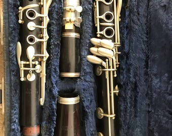 Buisson Wooden Clarinet to Low Eb