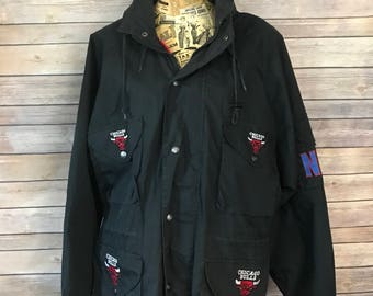 Vintage Pro Player by Daniel Young Chicago Bulls Jacket (M)
