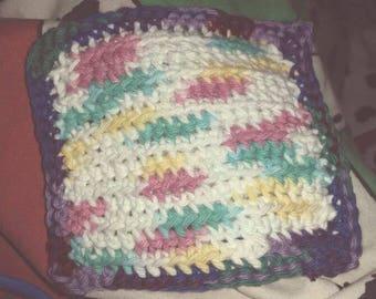 Handmade cotton dishcloth: limited.