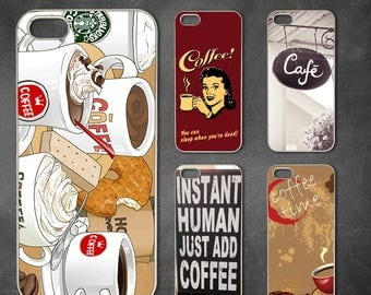16 kinds coffee iphone 7 case, iphone 7 plus case, iphone 6/6s , iphone 8 case, iphone 6 plus case, iphone x, 5/5s case, 5c case, 4/4s
