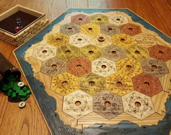 Heirloom Game Board for Catan