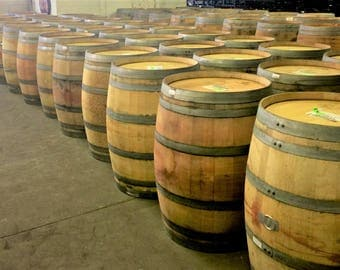 LOCAL PICK UP only - 59 Gallon Oak Wine Barrel - French, American or Hungarian Oak