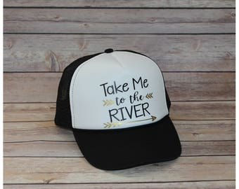 Take Me To the River Adult Trucker Hat
