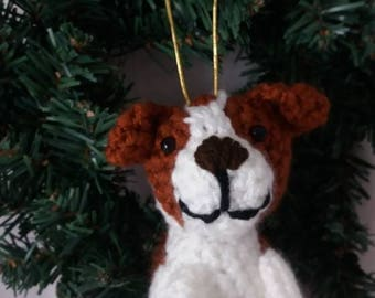Custom Dog Ornament - full body version; Personalized Gift for Dog Lovers; Christmas Tree Ornament made to look just like your dog
