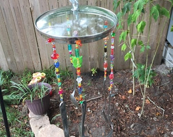 Hand Made Owl Wind Chime