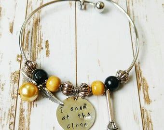 Golden Snitch Bangle Bracelet