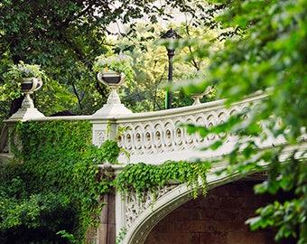 Central Park Photography, New York Houses Print, New York Wall Art, Central New York Photo Print, Colorful New York Art