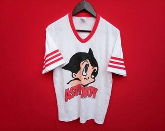 vintage astro boy animation japan large mens t shirt