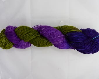 Virgin Wool, handdyed