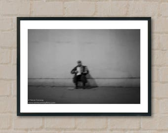The Accordion player. Photography Prints, home decor, home prints, gifts, wall art, prints, gift ideas, home accessories, art prints