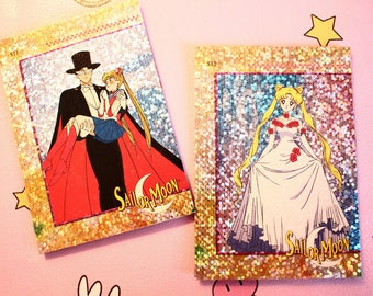 Sailor Moon and Tuxedo Mask Magnets