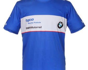 BMW TYCO Motorrad TAS Racing Blue Shirt