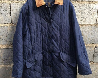 Vintage Polo Ralph Lauren Quilted Jacket Size M