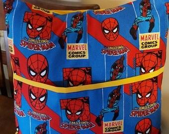 Spider Man Pocket/Reading Pillow