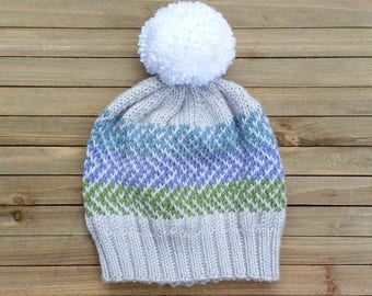 Fair Isle Hat - Ready to Ship!