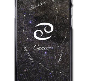 Cancer Zodiac Sign iPhone Case Cover