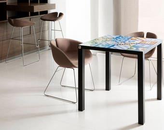Square table of Shirocco Studio, 2017