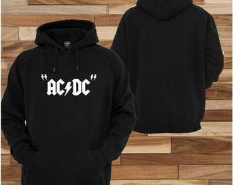 ACDC rock  ; sweatshirt jacket Hoodie pull over