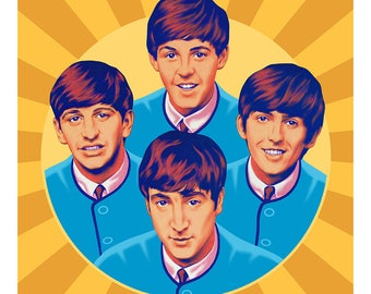 Fab Four cushion