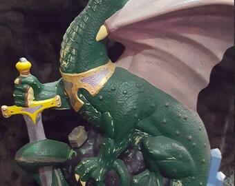 Majestic Dragon Statue