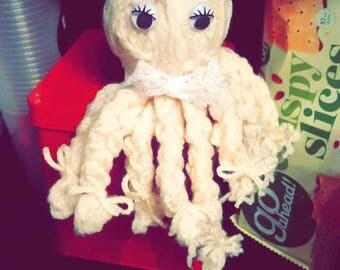 Fingerknitted Octopus