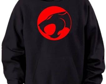 Thundercats Logo Hoodie Mens Sizes S M L Xl Xxl Xxxl 4xl 5xl