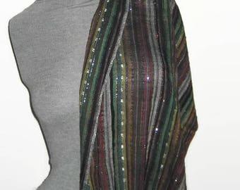 Women Scarves Cotton Scarf with Lurex thread Scarf Cotton Shawl Wrap Scarf Accessories Trendy