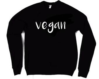 Vegan sweatshirt, women's sweatshirt, men's sweatshirt