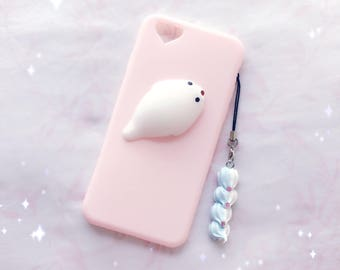 Iphone 6s | Squishy Seal Pastel Pink Case