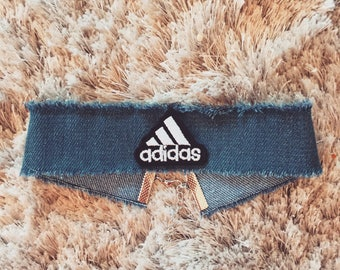Adidas Denim Choker