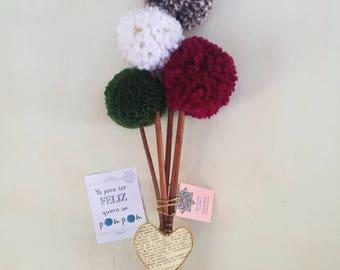 Bouquet of Pompoms