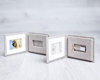 Linen USB case AC2.5