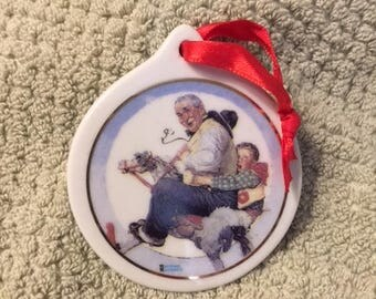 1997-1998 Norman Rockwell Ornaments