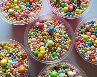 Nerds Slime (Foam Beads Slime)