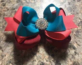 Stacked boutique hairbow