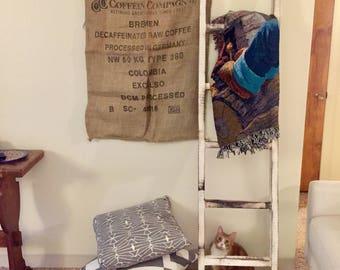 Vintage coffee burlap sack