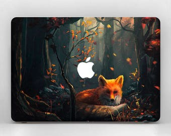Fox MacBook Pro MacBook Decal MacBook Pro 15 MacBook Skin MacBook Air MacBook Case Laptop Skin Laptop Case Cute MacBook Air 11 Laptop Decal
