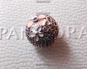 PANDORA Poetic Blooms Clip Charm - New, Authentic