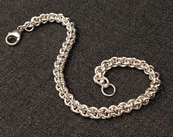 Sterling Silver Jens Pind Chain Maille Bracelet