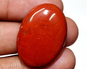 AAA Quality Natural Designer Red Jasper Oval Shape Cabochon Loose Gemstone Size 29x20x5 mm smooth cabochon 37 cts