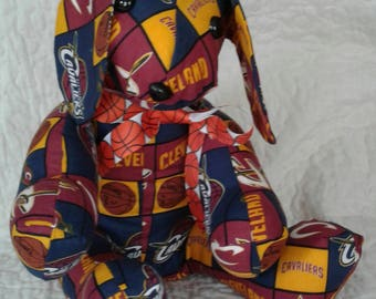 Cleveland Cavaliers stuffed dog. Go Cavs!