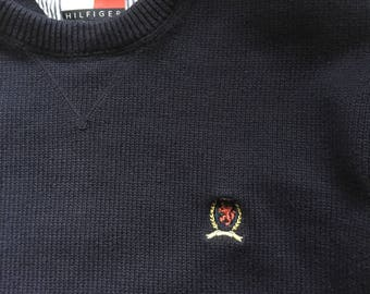 Vintage late 1980's Tommy Hilfiger Sweater