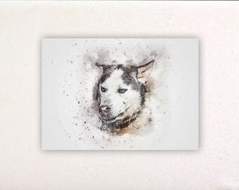Dog - Watercolor prints, watercolor posters, nursery decor, nursery wall art, wall decor, wall prints 9 | Tropparoba - 100% made in Italy