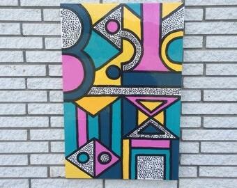 """24""""x36"""" acrylic on canvas"""
