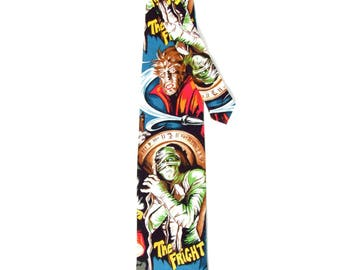 Classic Hollywood Monsters Tie