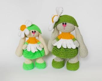 Amigurumi crochet pattern rabbit