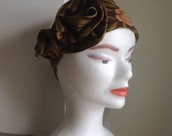 Silk headband women headband