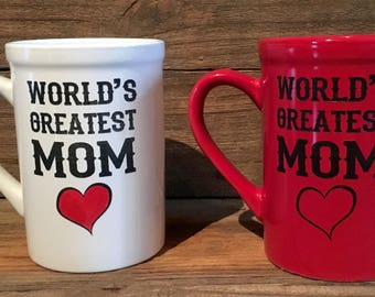 16 oz. Ceramic Worlds Greatest Mom Mug
